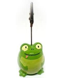 Admission Ticket Holder- Funny Goofy Frog