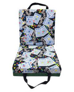 Bingo #1 Black Double Cushion
