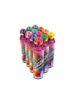 Dazzle Glitter 3oz Daubers- PACK OF 12- ASSORTED COLORS