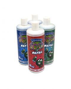 Dabbin Dots Marker/Dauber Ink Refill 16oz Bottles- Pack of 4