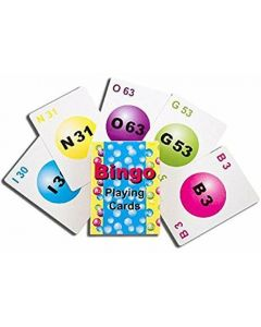 Bingo Calling Cards- Professional 75 Card Deck- 5 Colors