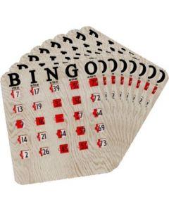 Finger Tip Jam Proof Slide Cards- Pack of 25