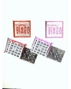 1 on Bullseye Sealed Tear Open Bingo Paper Cards- Pack of 250