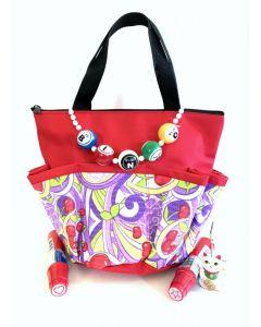 Bingo Bag Gift Set- Red Cherry Bag