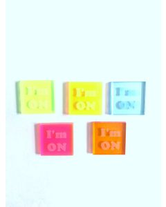 I'm On Bingo Waiters- Set of 5 Colors