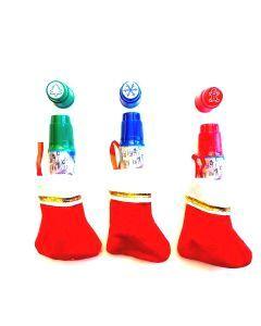 Christmas Mini Stockings with Stamp Daubers Fun Pack- Set of 3