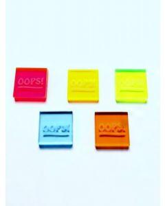 OOPS! Bingo Waiters- Set of 5 Colors