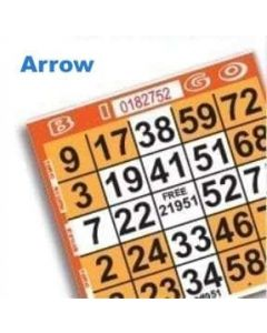 1 on Orange Arrow/Tree Pattern- Pack of 500
