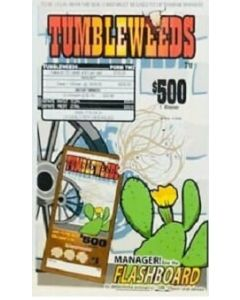 Bingo Sealed Event Tickets- Tumbleweeds- Pack of 720