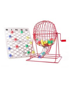 Extra Large Red Professional Ping Pong Cage Set
